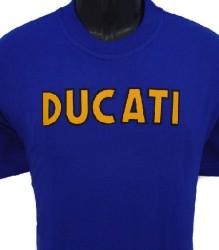 Ducati T-Shirt Mens Singles T2 Blue