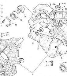 0755.17.010 Ducati Bevel Base Gasket – Rear
