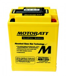 MB12U Motobatt Motorcycle Battery