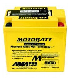 MB9U Motobatt Motorcycle Battery