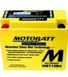 MBT12B4 Motobatt Motorcycle Battery