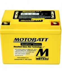 MBTX4U Motobatt Motorcycle Battery