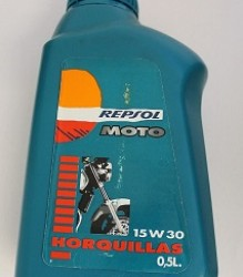 SPECIAL – Repsol MOTO FORK OIL  15W30 Horquillas 500ml – RMHO-30-500