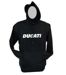 Ducati Hoodie – Block – Black