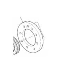 Ducati Flange Starting Clutch – 160Z0011A