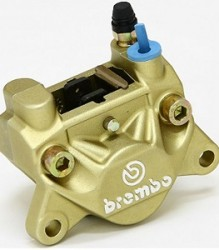 Brembo P32F Rear Caliper Gold – 20.5161.43