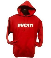 Ducati Hoodie – Block – Red