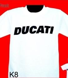 Ducati T-Shirt Kids Gowanloch K8 White