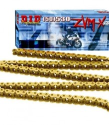 DID Professional Super Street #530 ZVM-X   X-Ring Gold Chain – DID50ZVMX114G