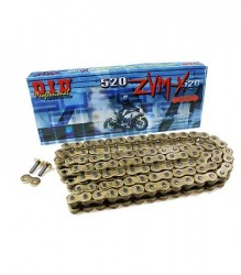 DID Professional Super Street #520 ZVM-X   X-Ring Gold Chain – DID520ZVMX120G