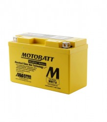 MB7U Motobatt Motorcycle Battery for Ducati's