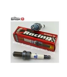 BRISK AAOR08LGS Spark Plug (MAR10AJ equivalent)
