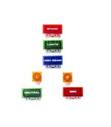 Reproduction Darmah Dashboard Lights (Set of 7)