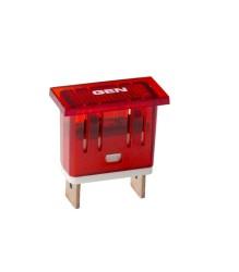 Reproduction Darmah Dashboard Light – GEN (red) – 0801.38.935
